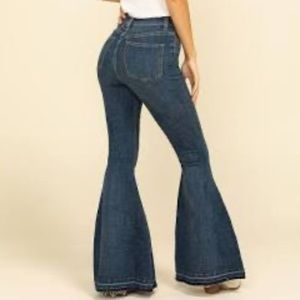 Free People Irreplaceable Flare Jeans Sz 32